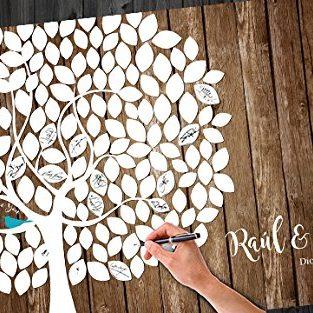 Crea un cuadro con la firma de tus invitados