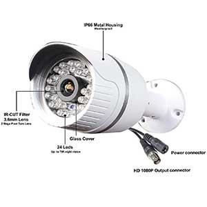 Cámara CCTV híbrida SKYVIEW HD 1080P